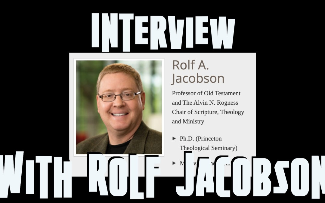 Don't Be Bored with Your Own Sermon | Interview with Rolf Jacobson
