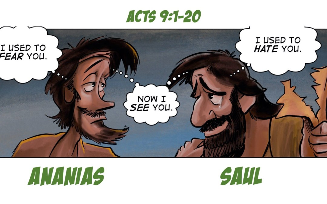 Saul and Ananias | A Story of Learning to See Again