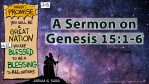 How Tired is Your Amen? A Sermon from Genesis 15:1-6