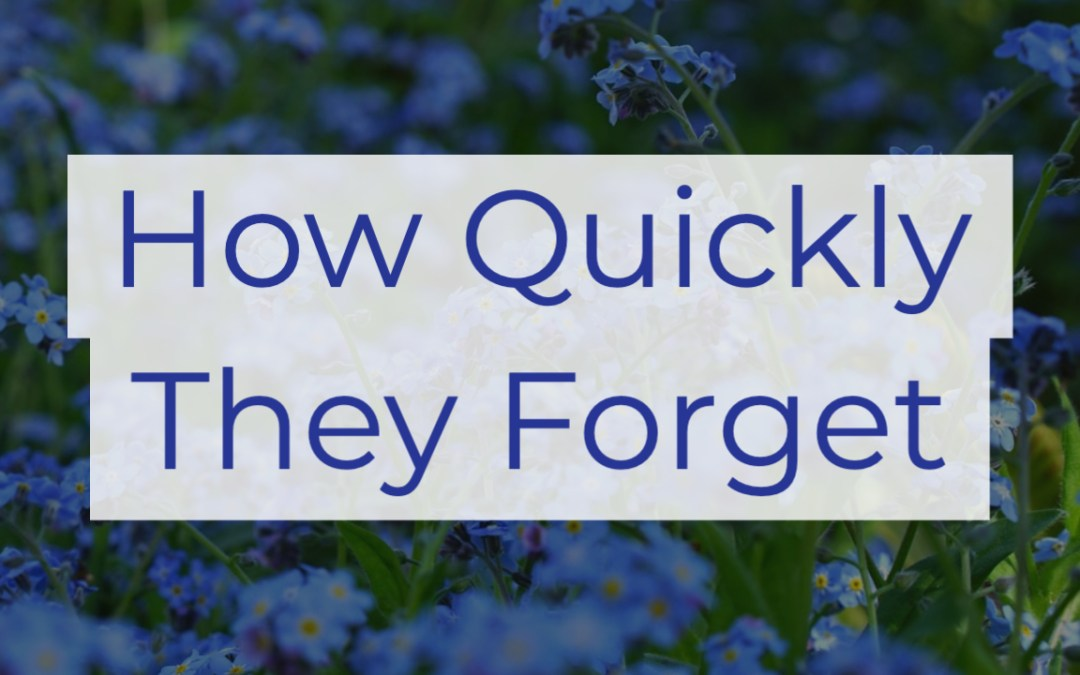 How Quickly They Forget | A Sermon on the Golden Calf from Exodus 32
