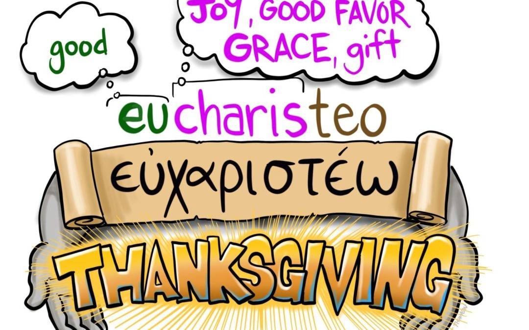 Good Grace to You | A Cartoonist's Guide to Thanksgiving