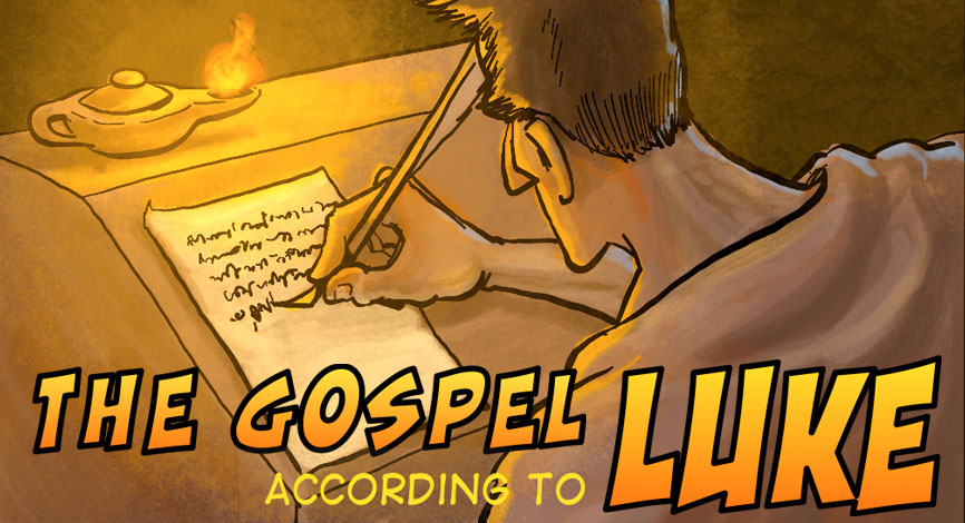 A Cartoonist's Guide to Luke is FINISHED!!! Download it Today