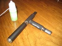 eGo-w e-cigarette review pseudo kit image