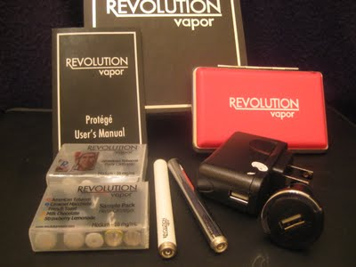 Revolution Vapor e-cigarette starter kit review title image