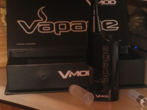 Vapage V-Mod bottom juice fed e-cigarette