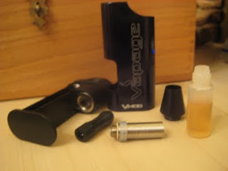Vapage V-MOD e-cigarette review from SKVW electronic cigarette reviews disassembly image