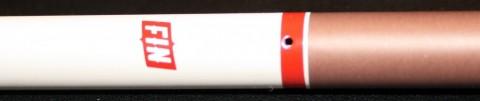 Fin Cigs disposable review fin cigs logo detail
