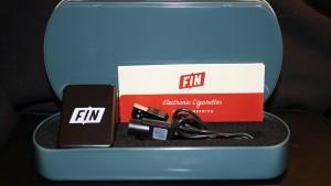 Fin e-cig starter kit tin box image