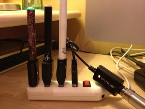 charge mutliple ecigs at once