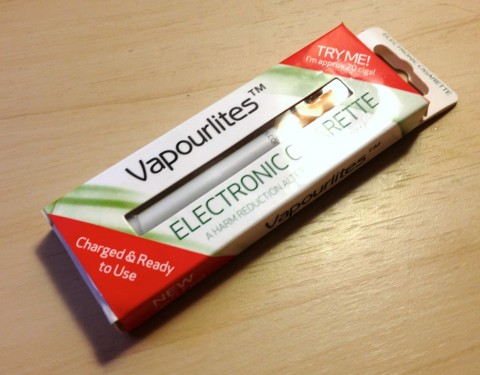 Vapourlites disposable ecig