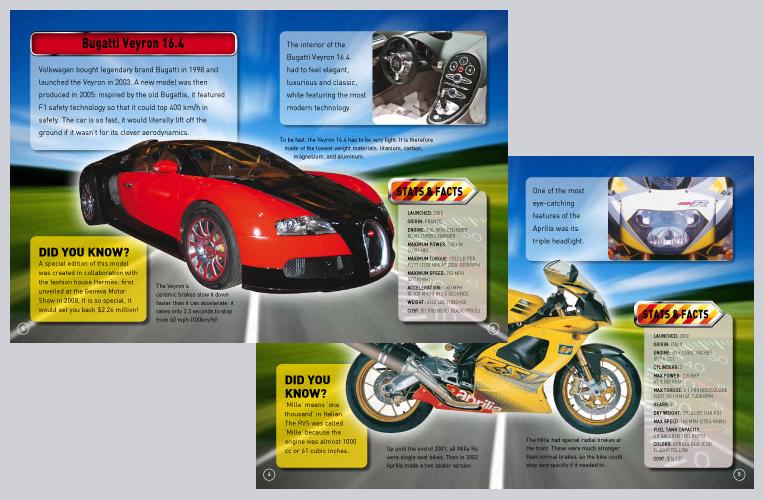 Book design – wild rides