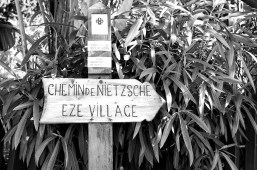 The beginning of the Chemin de Nietzsche in Eze Bord de Mer.