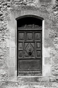 An old doorway, Lourmarin, France.
