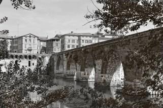 Pont Vieux (The Old Bridge) in Albi, originally built in 1035.