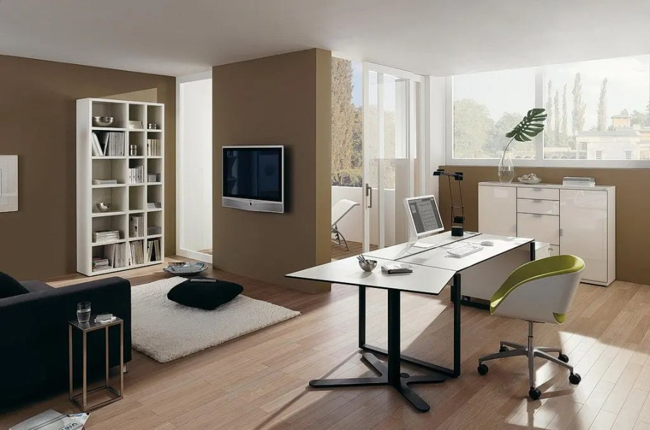 20 Fresh And Cool Home Office Ideas. - Interior Design ...