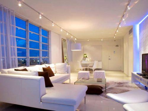 contemporary living room lighting ideas