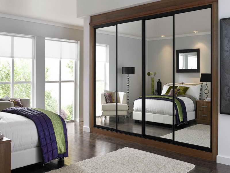 Some Samples Of Mirror Wardrobe Designs Interior Design