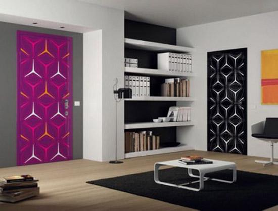 11 Door Decorating Ideas to Create Modern Interior Doors ...