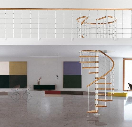 Space Saving Spiral Staircase Interior Design Inspirations | Space Saving Spiral Staircase | Kid Friendly | Iron | Design | Mini | Roof Access