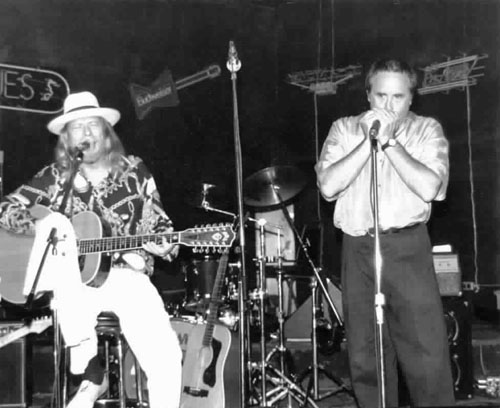 Long John Baldry, Steve York 1992 MN USA