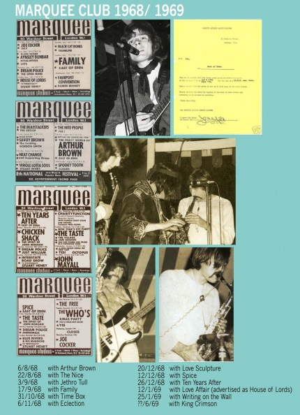 East of Eden, 1969, London. Marquee Club