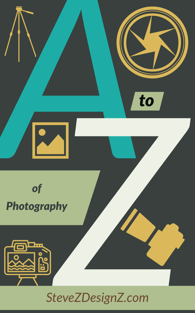 The A-Z of Photography – this is an alphabetical list of all things dealing with photography starting with the letter A and ending with the letter Z. #Photography