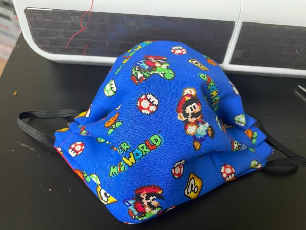 Super Mario Face Mask - Gamers here is a face mask for you if you enjoy Super Mario Brothers. #SuperMario