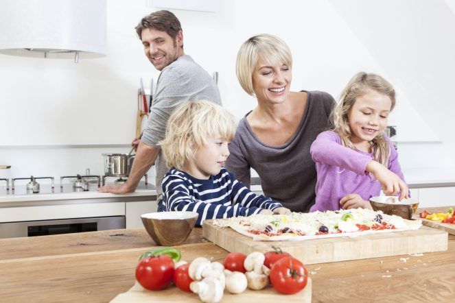 How families can cook together as they confront COVID-19 - The following are some simple ways to get the whole family involved when the time comes to get dinner on the table.
