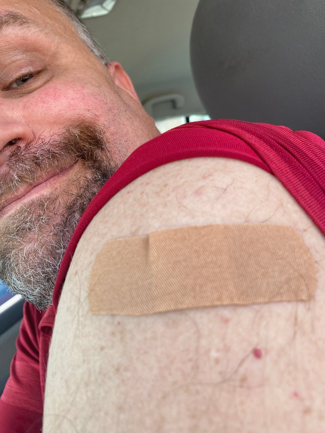 2nd COVID-19 Vaccine Completed - I recently got my 2nd dose of the Pfizer COVID-19 Vaccine. #COVID19Vaccine #Pfizer