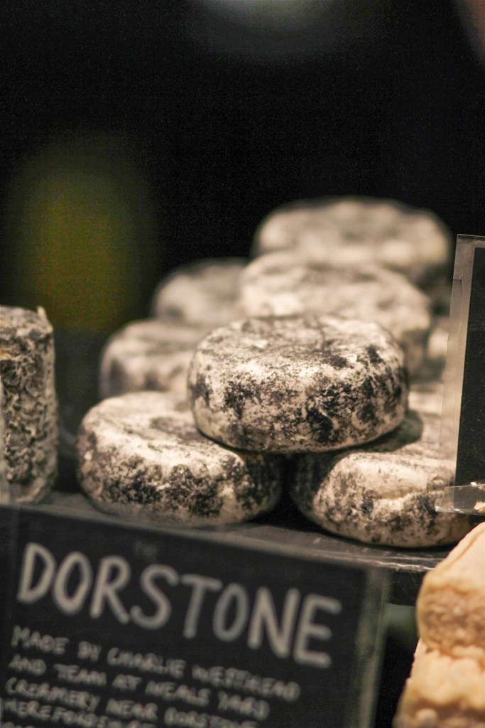 Dorstone Goats Cheese at Neals Yard Dairy