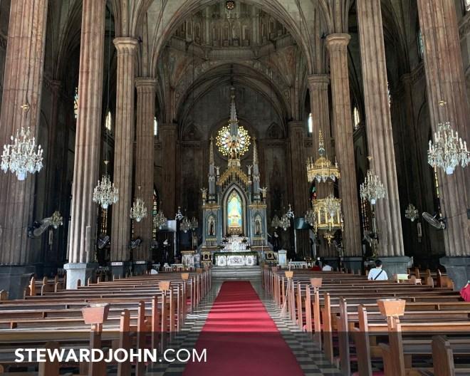 The Minor Basilica of San Sebastian