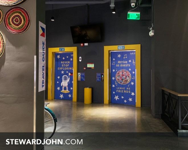 Lubd Hostel's lobby