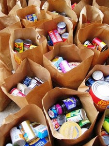donate non-perishable food