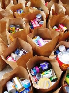 donate non-perishable food