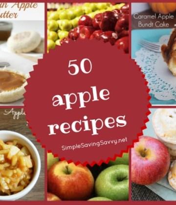50 Apple Recipes