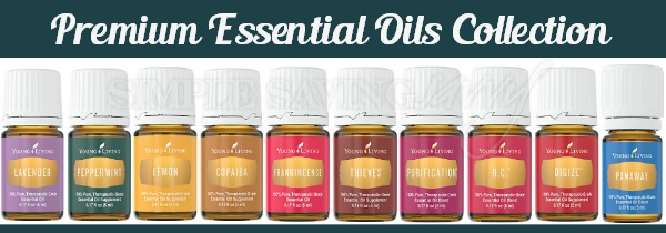 Young Living Premium Essential Oils Collection