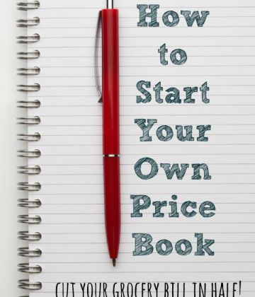 How to Start Your Own Price Book: Cut Your Grocery Bill in Half!