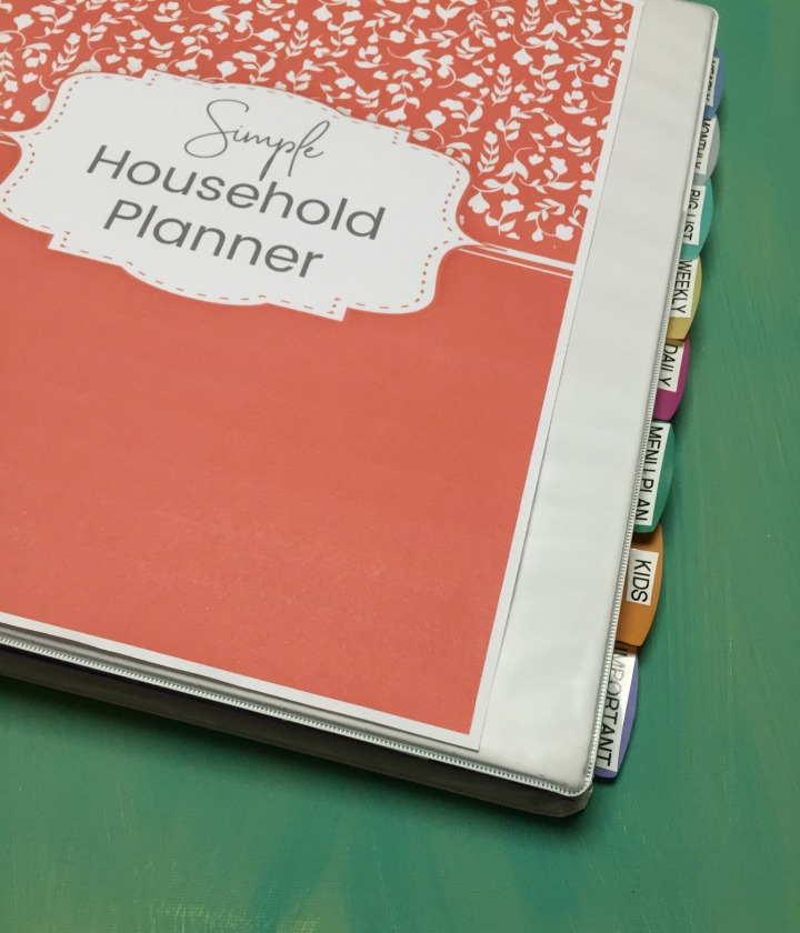 picture about Diy Daily Planner identified as Do it yourself Very simple Spouse and children Planner Stewardship at Residence