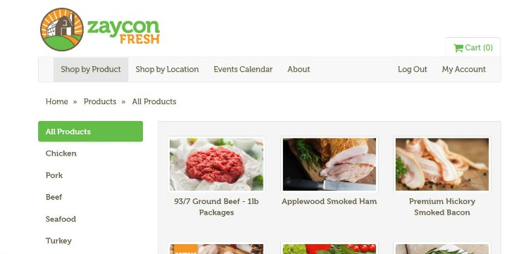 Shop Zaycon Fresh Products