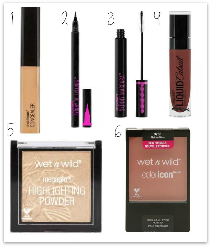 wet n wild makeup products
