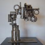 "Sculpture ""Puzzlement"" by E. Cunningham"