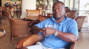Desmond Haynes remembers growing up in Barbados