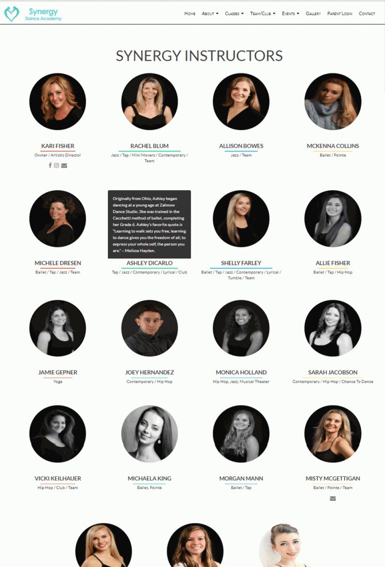 Websites – Stewart Angevine Projects