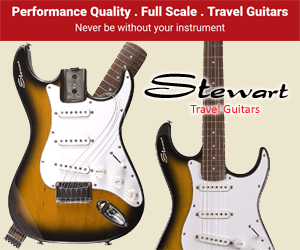 Stewart Electric Travel Guitars