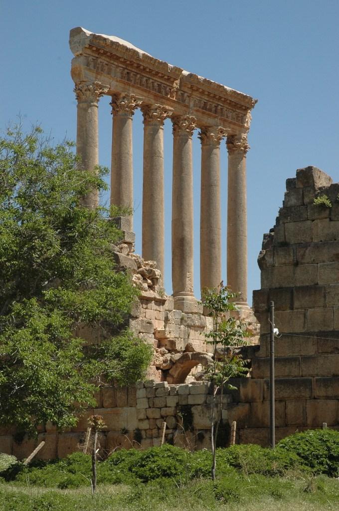 Stewart Innes Baalbek Lebanon filming Fixer in Lebanon, Filming in Lebanon