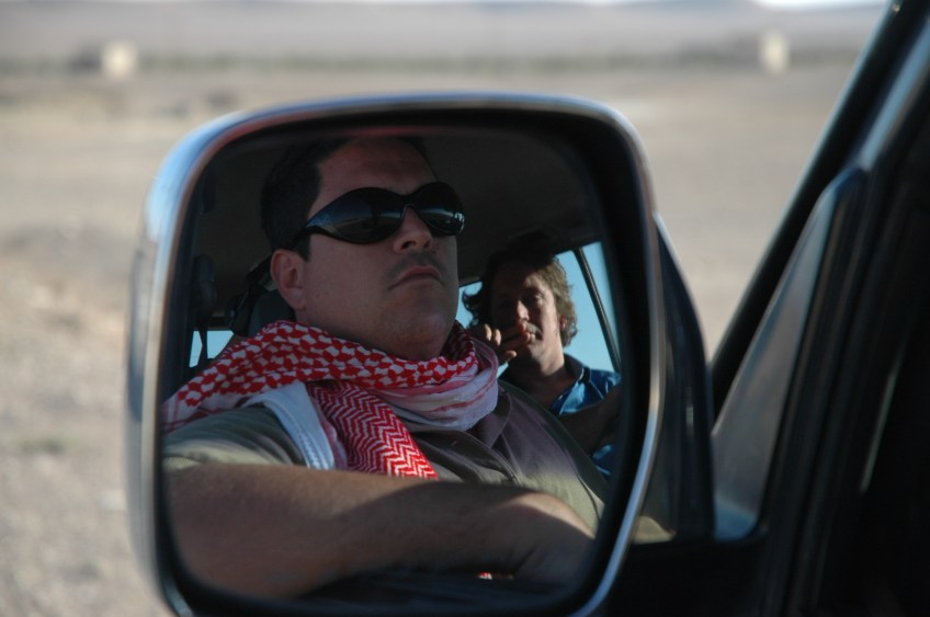 Stewart Innes Syria filming Palmyra Dom Joly