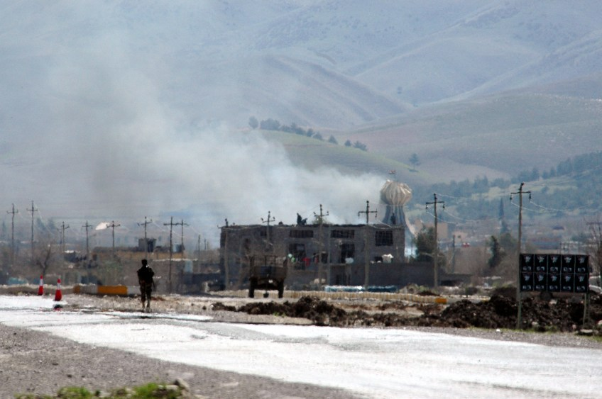 Stewart Innes Iraq, Kurdistan, Halabja Memorial Saddam chemical weapons