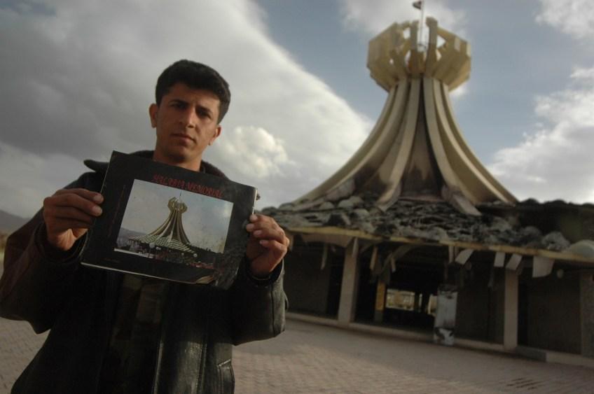 Stewart Innes Iraq, Kurdistan, Halabja Memorial