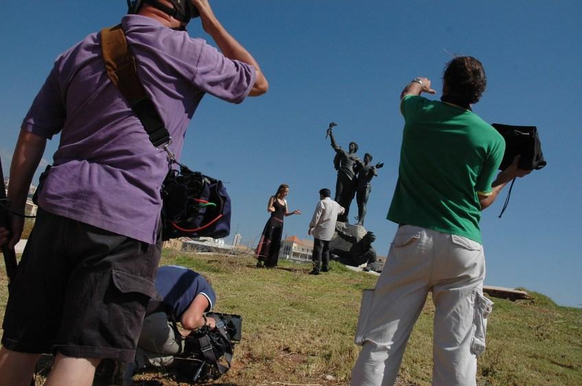 Stewart Innes Lebanon filming Fixer in Lebanon
