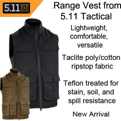 Range Vest from 5.11 Tactical Kuwait